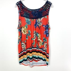 Loveappella Tank Top Floral Print